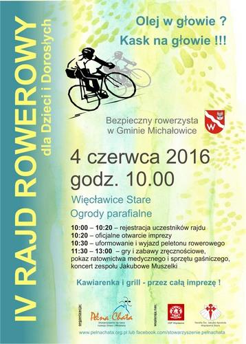 IV piknik rowerowy w gminie Michałowice