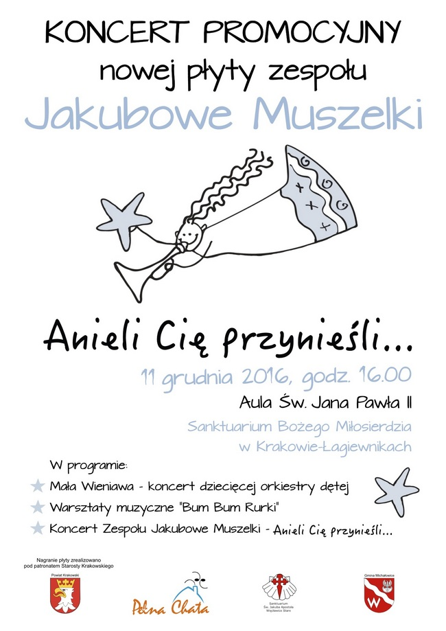 Koncert promocyjny nowej płyty naszego zespołu Jakubowe Muszelki