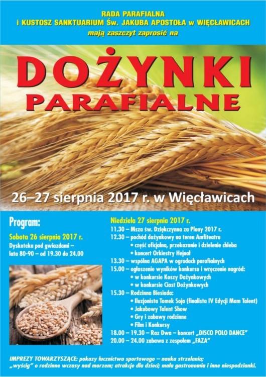 Zapraszamy na najbliższe wydarzenia w Więcławicach!