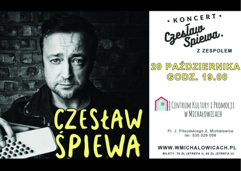 Czesław Śpiewa w Michałowicach!