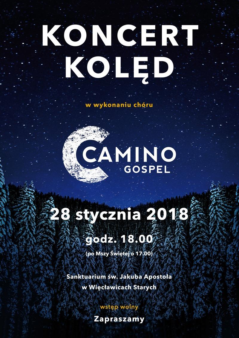 Chór Camino Gospel z Więcławic zaprasza!