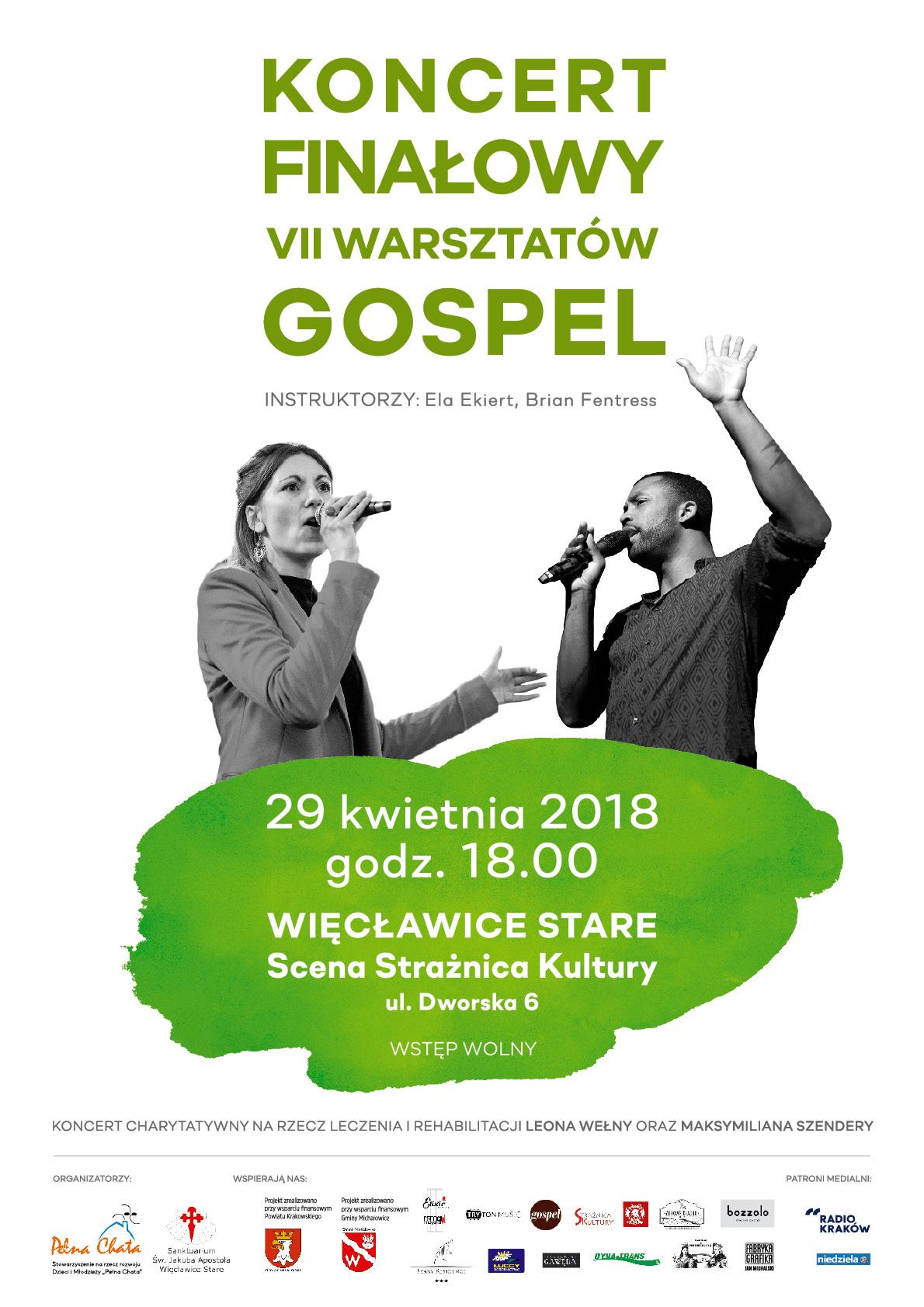 Koncert finałowy naszych 7 Warsztatów Gospel