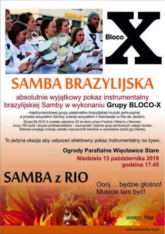 Brazylijskie rytmy w Więcławicach!