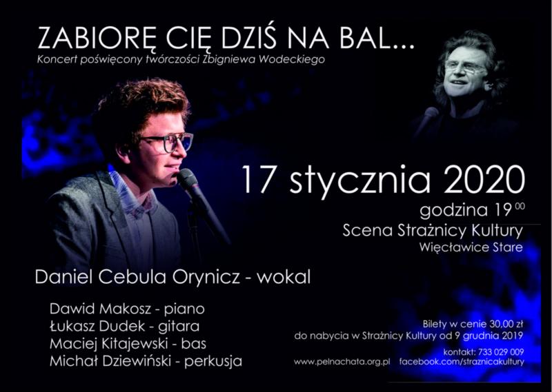 """Koncert pt. """"ZABIORĘ CIĘ DZIŚ NA BAL"""""""
